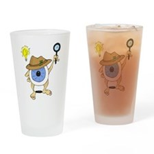 Private Eyeball Drinking Glass