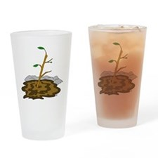 Stick In The Mud Drinking Glass