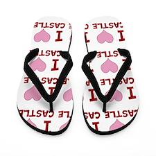 IheartCastle Flip Flops