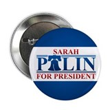 Sarah Palin for President 2.25&quot; Button