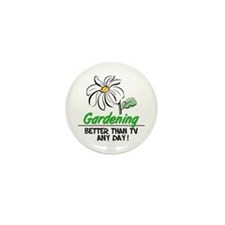 Gardening Mini Button (100 pack)