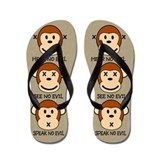 Hear No Evil... Flip Flops