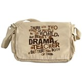 Drama Teacher (Funny) Gift Messenger Bag