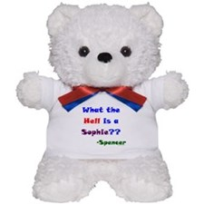 Whats a Sophie?? Teddy Bear