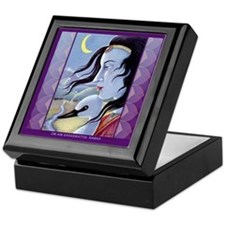 Saraswati-Goddess of Wisdom Keepsake Box