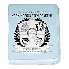 Lamont PreKindergarten Academ baby blanket