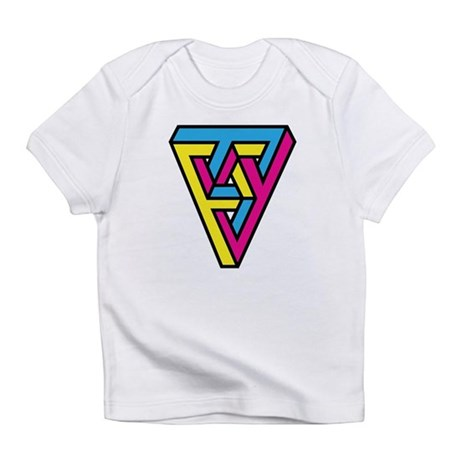 CMYK Triangle Infant T-Shirt