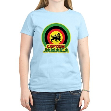Captain Jamaica Women's Light T-Shirt