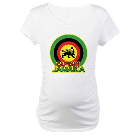 Captain Jamaica Maternity T-Shirt