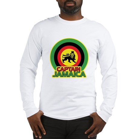 Captain Jamaica Long Sleeve T-Shirt