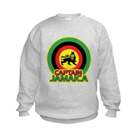 Captain Jamaica Kids Sweatshirt