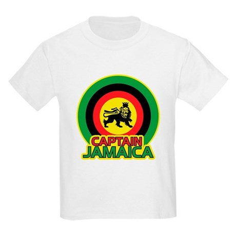 Captain Jamaica Kids Light T-Shirt