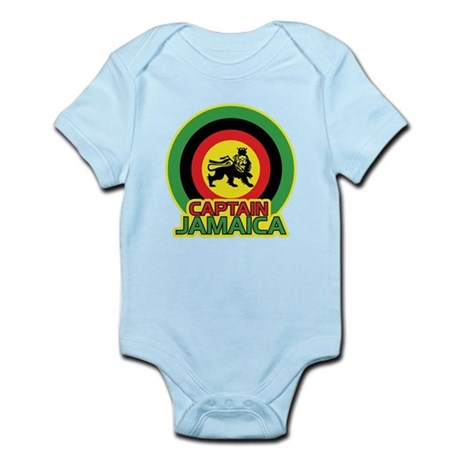 Captain Jamaica Infant Bodysuit