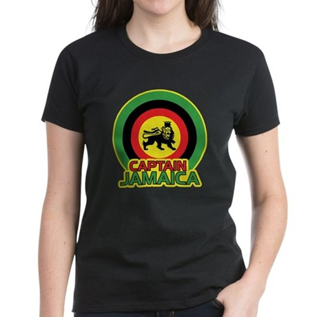 Captain Jamaica Women's Dark T-Shirt