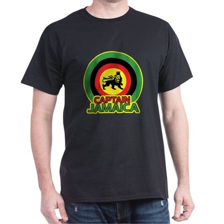 Captain Jamaica Dark T-Shirt