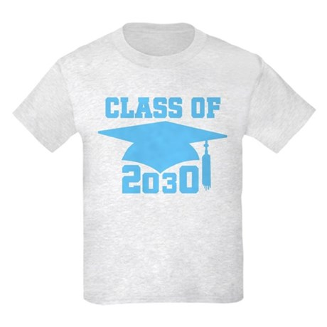 2030 Blue Future School Class Kids Light T-Shirt