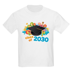 2030 Future School Class Retro Kids Light T-Shirt