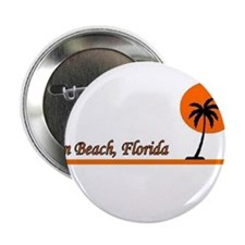 "Funny I love the beach 2.25"" Button (100 pack)"