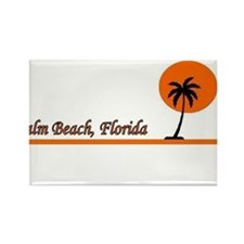 Cute Miami beach florida Rectangle Magnet