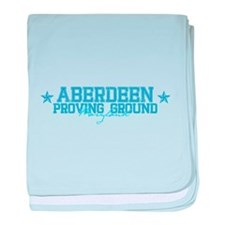 Aberdeen Proving Grounds baby blanket