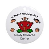 Lamont Weedpatch FRC Ornament (Round)