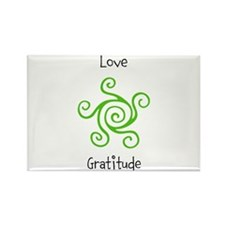 Unique Gratitude Rectangle Magnet