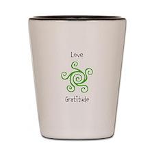 Funny Love life Shot Glass