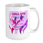 OYOOS girls nite design Large Mug