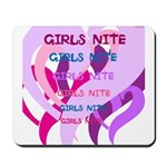 OYOOS girls nite design Mousepad