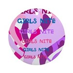 OYOOS girls nite design Ornament (Round)