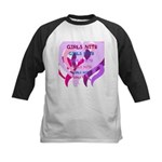 OYOOS girls nite design Kids Baseball Jersey