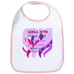 OYOOS girls nite design Bib