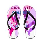 OYOOS girls nite design Flip Flops