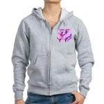 OYOOS girls nite design Women's Zip Hoodie