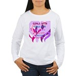 OYOOS girls nite design Women's Long Sleeve T-Shir