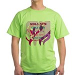 OYOOS girls nite design Green T-Shirt