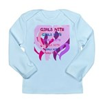 OYOOS girls nite design Long Sleeve Infant T-Shirt