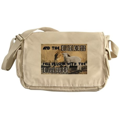 Twilight Movie Lion Lamb Messenger Bag