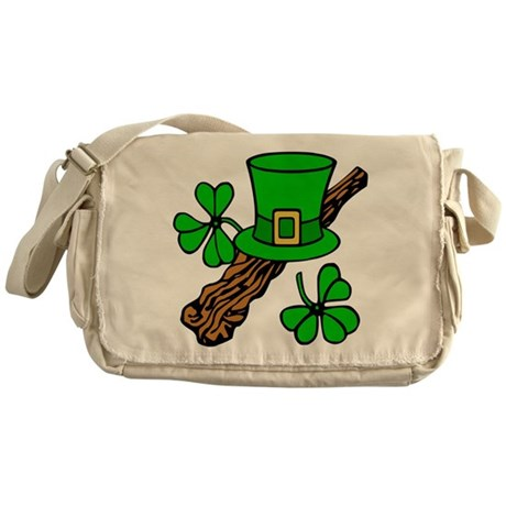 Irish Shillelagh Messenger Bag