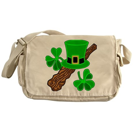 Leprechaun Hat Messenger Bag