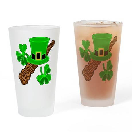 Leprechaun Hat Drinking Glass