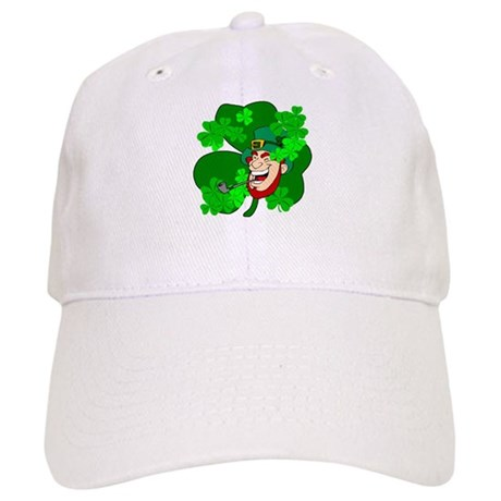 Leprechaun Shamrocks Cap