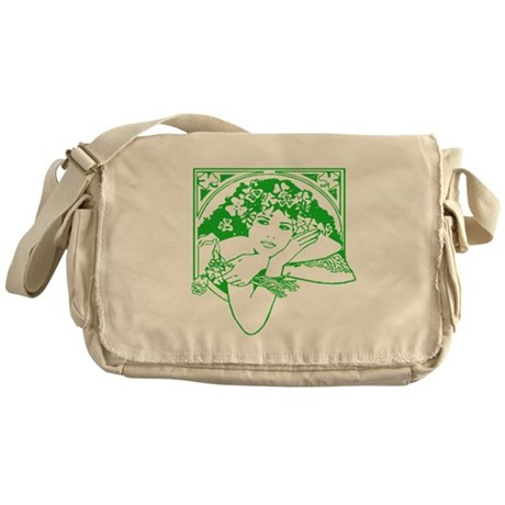 Kiss Me Irish Girl Messenger Bag