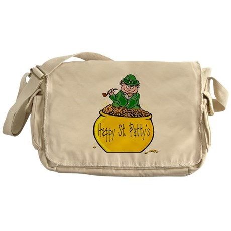 Pot of Gold Messenger Bag