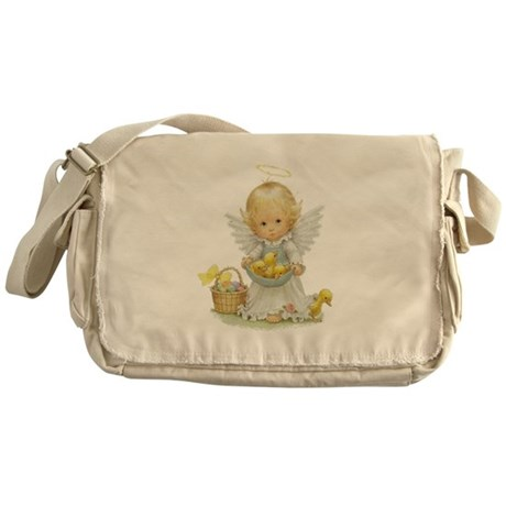Easter Angel Messenger Bag