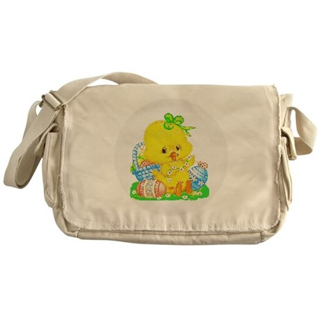 Easter Duckling Messenger Bag