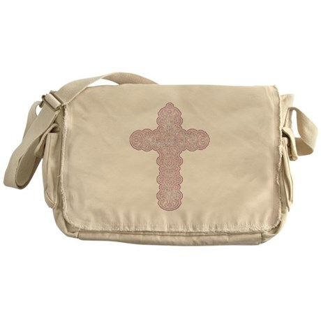 Pastel Cross Messenger Bag