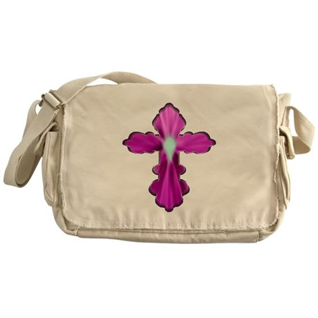 Holy Spirit Cross Messenger Bag