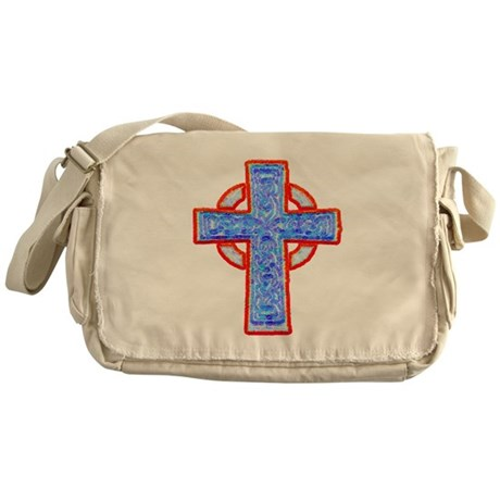Celtic Cross Messenger Bag