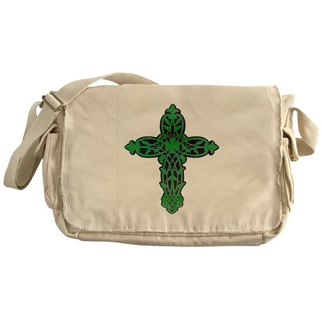 Victorian Cross Messenger Bag